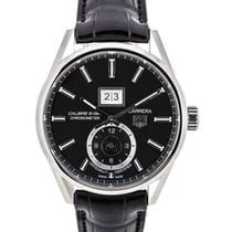 TAG Heuer Carrera Calibre 8 GMT Schwarz