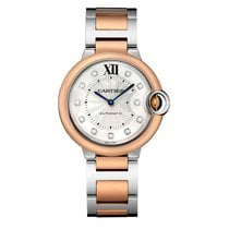Cartier Ballon Bleu Automatic Ladies Watch Ref W3BB0007