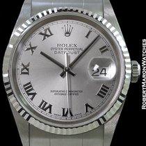 롤렉스 (Rolex) Datejust 16234 Rhodium Roman Dial New Box &...