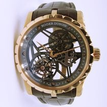Roger Dubuis Excalibur Skeleton Flying Tourbillon Pink Gold