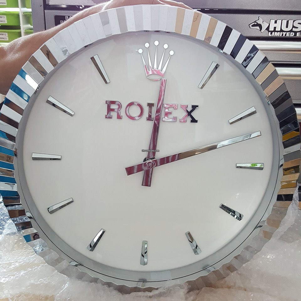 Rolex wall clock for 12900 for sale from a trusted seller on rolex wall clock for 12900 for sale from a trusted seller on chrono24 amipublicfo Image collections