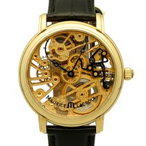 Maurice Lacroix Masterpiece Skeleton Yellow Gold 43 mm (Full Set)