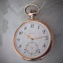 Zenith vintage silver in rare condition, serviced
