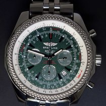 Breitling Bentley Motors Steel Green Dial 48mm Mens Chronograp...