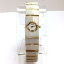 Rado Diastar 18k Gold/steel & High-tech Ceramics Ladies...