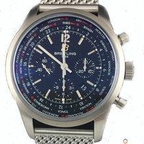 Μπρέιτλιγνκ  (Breitling) Transocean Chronograph Unitime Pilot ...
