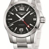 Longines Men's L36874566 Conquest Watch