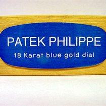 """Patek Philippe Konzessionär Dekorationsständer """"18 Karat..."""