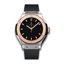 Hublot Classic Fusion 33mm Quartz Titanium & 18K Rose Gold...