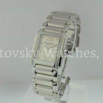Patek Philippe Ladies 24 Steel White Dial