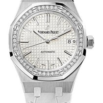 Audemars Piguet Royal Oak Ladies White Dial 37mm 15451ST.ZZ.D0...