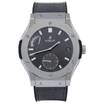 Hublot Classic Fusion Racing Grey Power Reserve Titanium