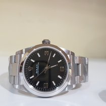 Rolex Oyster Perpetual black luminor 31mm - paper and box