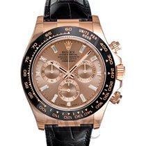 롤렉스 (Rolex) Daytona Rose Gold/Leather 40mm - 116515 LN A