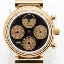 IWC Da Vinci Solid 18k Rose Gold Perpetual Calendar Chronograp...