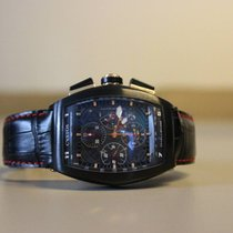 Cvstos Challenge Chrono Black Steel Rose Gold