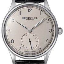 Hentschel Hamburg H1 Chronometer White Gold / Steel, 39.5mm,...