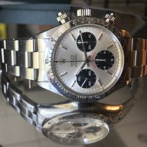 Rolex 6265 Daytona Big Red Floating Silver Dial
