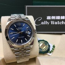 Rolex Cally - {2017 New} Datejust 41mm 126334 Blue dial