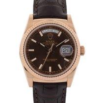 Rolex Day-date 36mm In Oro Rosa 18kt Ref. 118135