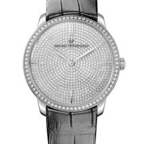 Girard Perregaux 1966 JEWELLERY White Gold Strap Black 38mm...