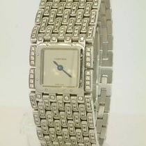 Cartier Panthere Ruben Steel w 272 Diamond Ref 2420 Box / Papers