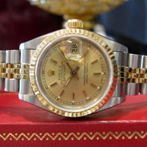 Rolex Oyster Perpetual Datejust Two-tone Yellow Gold And...