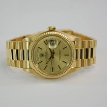 Rolex Day-Date 18kt Yellow Gold with Champagne Dial - 1803