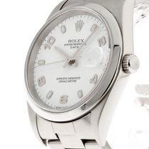 Rolex Oyster Perpetual Date Automatik Stahl Ref.15200
