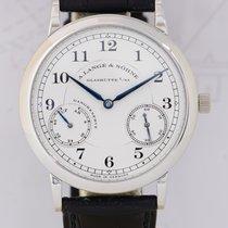 A. Lange & Söhne 1815 Auf & Ab Platin white dial Luxus...