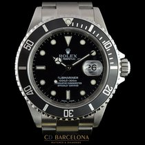 롤렉스 (Rolex) Rolex Submariner Date Box & Papers No Holes...