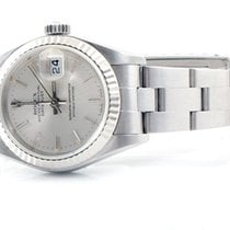 Rolex Ladies 79174 Datejust - Silver Stick Dial w/ Oyster Band