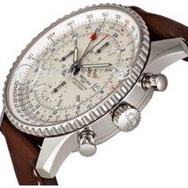 Breitling A2432212|G571|756P|A20BA.1 NAVITIMER WORLD 46MM...
