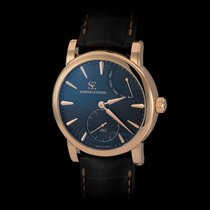 Schwarz Etienne Manufacture Roma 18K Rose Gold Power Reserve...