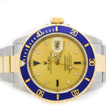 Rolex Submariner Submariner 18KT/Steel Serti Diamond Dial