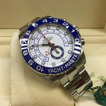 Rolex Cally - Discontinued 44MM YACHT MASTER II 116680 STEEL NEW