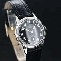 Omega Non Magnetic Black Dial Top Zustand ca.1950