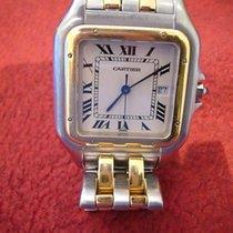 カルティエ (Cartier) Panthere, großes Model, Datumsanzeige auf 3 Uhr