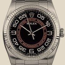 ロレックス (Rolex) Perpetual black and orange dial