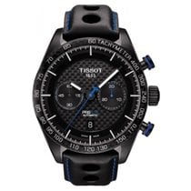 Tissot PRS 516 Automatic Chronograph Black PVD Carbon