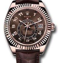 Rolex sky-dweller pink gold 326135