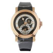 Breguet Marine Automatic Dual Time 5857br/z2/5zu Rose Gold Unworn