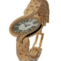 Cartier WG800006 Delices de Cartier Large - Diamond Bezel -...