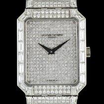 Vacheron Constantin Platinum Fully Loaded Diamond Set Wristwatch