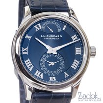 Chopard L.U.C. Quattro Blue Dial Platinum 9 Day Power Reserve...