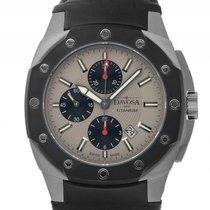 Davosa Titan PVD Chronograph Automatik Armband Leder 48x46mm...