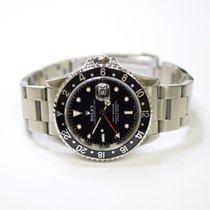 Rolex GMT Master 40mm Stainless Steel Mens Watch 16700