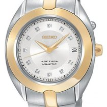 Seiko ARCTURA KINETIC SKA896P1 MOTHERPEARL 11 DIAMONDS