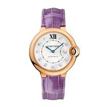 Cartier Ballon Bleu Automatic Ladies Watch Ref WE902028