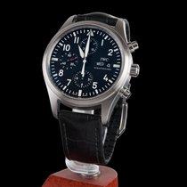 IWC Fliegeruhr Chronograph Steel Automatic